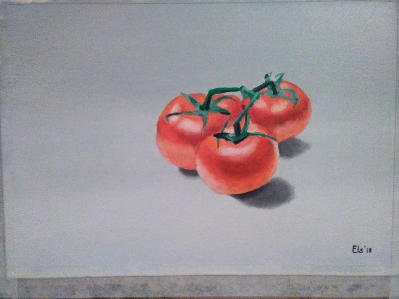 Olieverfschilderij-resultaat-van-student-tomaten